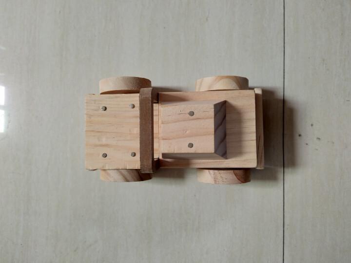 万克宝木质儿童玩具拼图礼物益智娃娃玩具车子公交小孩v木质船柜w13上海吊积木图片
