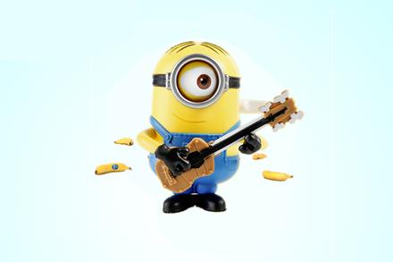 【小黄人3】京东自营 整点《小黄人 大眼萌》卑鄙的我 益智玩具 吉他