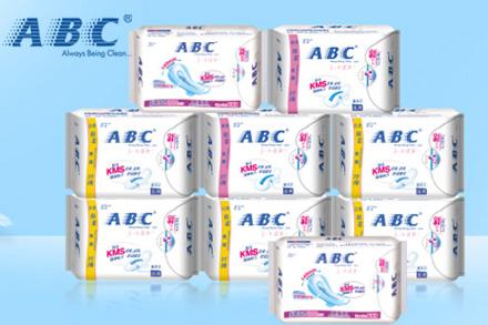 【ABC】纤薄纯棉排湿无黏腻卫生巾组合(日40片+夜16片+加长夜6片新旧包装随机发货)