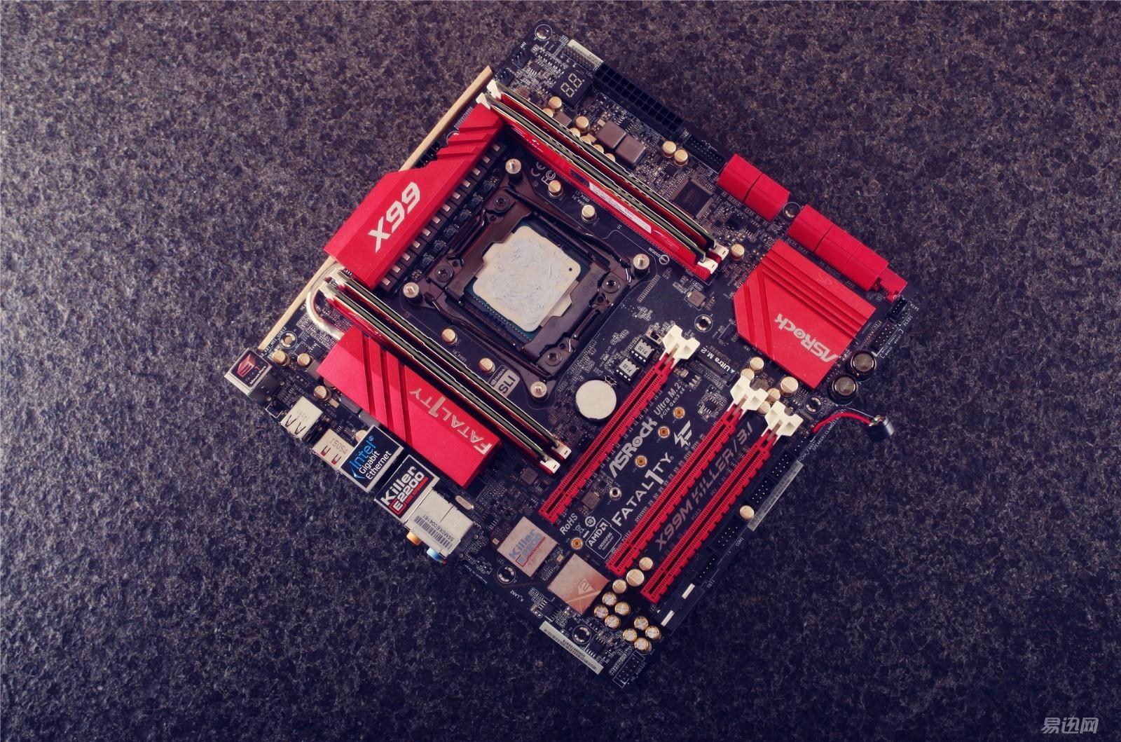 电脑主板手绘板
