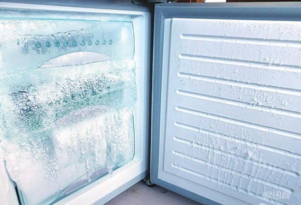 三,打开冰箱门制冷