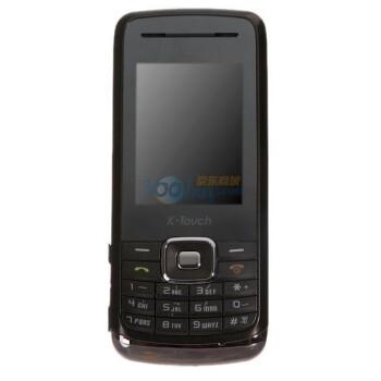 天语(K-Touch)A665 GSM手机(黑咖啡色)双卡双待 金属外壳 超薄机身