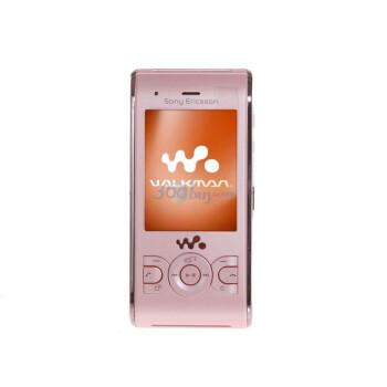 索尼爱立信(Sony Ericsson)W595C GSM手机(蜜桃粉)