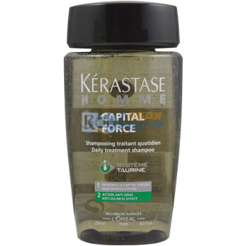 KERASTAS卡诗男士系列清爽控油洗发水250ml(针对油性头发)