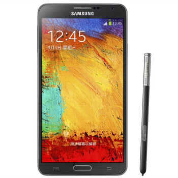 三星 Galaxy Note 3 N9006 3G手机(炫酷黑) WCDMA/GSM(16G内存)