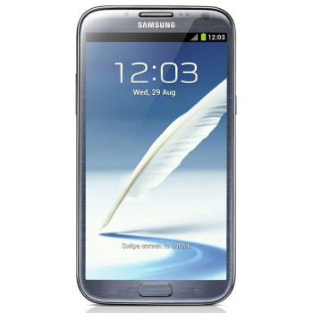 三星(SAMSUNG)Galaxy Note II N7108 3G手机(钛灰色)TD-SCDMA/GSM(16G内存)