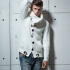 Autumn Winter Fashion Casual Cardigan Sweater Coat Men Loose Fit 100% Acrylic Warm Knitting Clothes Sweater Coats Men