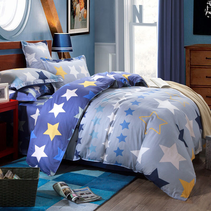 Jiuzhou deer textile cotton four sets of bedding
