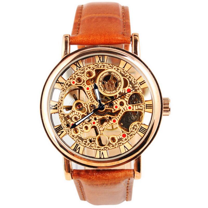 Скелетон часы наручные