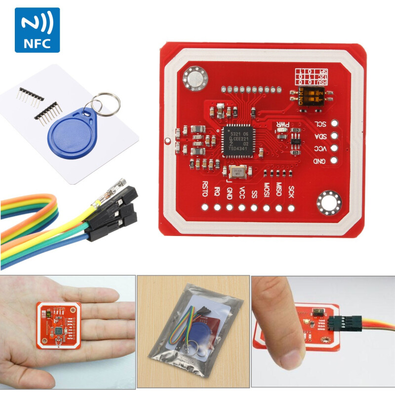 Beginning NFC with Arduino, Android, and PhoneGap