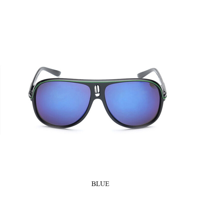 LEIDIESN Goggle Sunglasses Men Prevent Ultraviolet High Quality Sun Glasses UV400