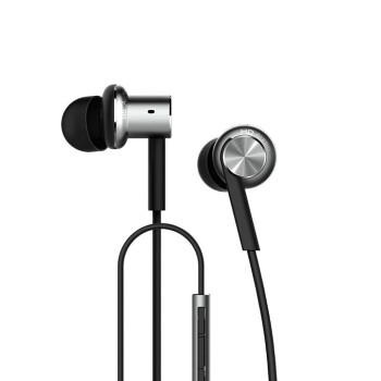 Original Xiaomi Mi IV In-ear Dual Dynamic Driver Wired Control Earphone Headphone with MIC for Android iOS