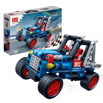 Banbao Intelligence Building Blocks Kids Car Toy