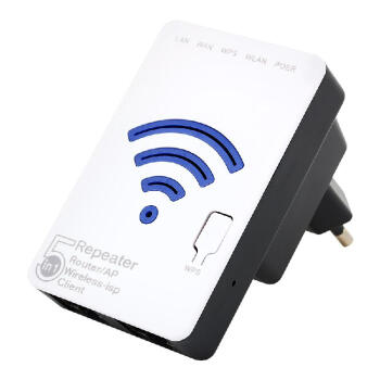300mbps Wifi Repeater Wireless-N 802.11n Network Signal Extender Booster