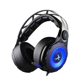 XIBERIA T18 Over-ear USB 7.1 LED Gaming Headsts with Retractable Microphone Virtual Surrounded Sound