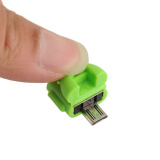 Phone Accessories-New Micro USB OTG Adapter For Samsung Galaxy Note 10.1 Edition SM-P600 Tab Green on JD