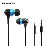 Phone Accessories-ES-Q3i 3.5mm Stereo Noise-isolating Hi-fi In-ear Earphones Heavy Bass Music Headset Headphones with microphone on JD