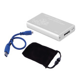 Home Audio & Video-Mini mSATA to USB 3.0 SSD Hard Disk Box External Enclosure Case with Cable  Silver&white on JD
