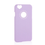 All Categories-NEW Ultra Slim Lovely Love Heart Phone Case Cover Skin For iPhone 6Plus LIGHT PURPLE on JD
