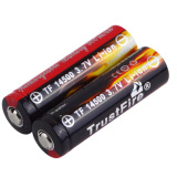 All Categories-2pcs AA 14500 900mAh 3.7V Li-ion Rechargeable LED Battery New on JD