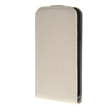 Phone Accessories-MOONCASE Premium PU Leather Pouch Flip Case Cover for Samsung Galaxy Xcover 3 SM-G388F White on JD