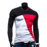 Shirts-Zogaa New Men's T-shirt Long Sleeve Fashion on JD