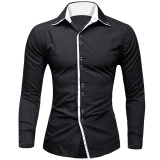 Shirts-Zogaa New Fashion Men's Casual/Work/Formal Pure Long Sleeve Regular Shirt (Cotton) on JD