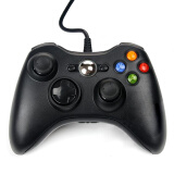 Gaming Accessories-UPower SOLO 1pc USB Wired Joypad Gamepad Controller For Microsoft for Xbox for 360 for PC for Windows7 Black Color Joystick Game Controller on JD