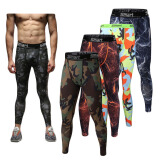 Running Clothes-Men Compression Legging Base Layers Long Pants Trousers Running Athletic Apparel on JD