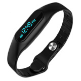 Мужские часы-Health smart bracelet wristwatch E06 Bracelet Fitness Wearable Tracker Bluetooth watch for Android 4.4, LIKE Xiaomi MiBand on JD