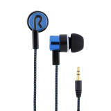 Portable Audio & Video-3.5mm Stereo Woven Fiber Cloth Line Headset Device Metal Earphones Jack on JD