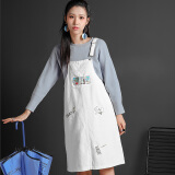 Dresses-Seven Glove Spring Print Casual Skirt 6MB3074L White S on JD
