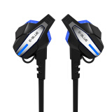 Gaming Accessories-Yibo (E-3LUE) EBT924 Bilateral Movement Bluetooth Headset Black on JD
