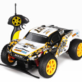 Remote Control Toys-[Jingdong supermarket] Transjoy children's remote control racing off-road climbing car waterproof 1:18 ratio high-speed car car model yellow 8603 on JD