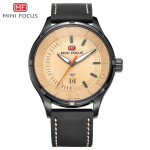 Men's Watches Мужские часы Relojes para Hombre-MINI FOCUS Famous Top Brand Men Quartz Watch Genuine Leather Fashion Men's Wrist Watch MF0008G on JD