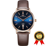 Men's Watches Мужские часы Relojes para Hombre-BRIGADA Swiss Brand Watches for Men, Nice Business Casual Blue Men's Watch on JD