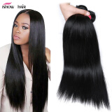 Good Cheap Virgin Hair 4 Bundles Peruvian Straight Hair Weave 100% Human Hair Unprocessed Virgin Straight Hair Weave Bundles
