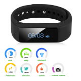 Excelvan OLED Touch Screen Smart Bracelet Bluetooth 4.0 Pedometer/Calorie/Sleep/Call Remind F Android IOS