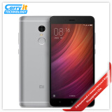 "Original Xiaomi Redmi Note 4 Mobile Phone 3+64GB Android MTK Helio X20 Deca Core 4100mAh 5.5"" 13MP Fingerprint Metal Body"