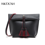 Free Shipping Women Shoulder Bags PU Leather With Tassel Elegant Solid Color Hobos Bag Single Straps Ladies Hand Bags