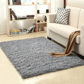 Area Rugs & Doormats-Soft Indoor Modern Area Rugs Fluffy Living Room Carpets Suitable for Children Bedroom Decor Nursery Rugs on JD