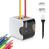 Home Office Furniture-White USB Double hole Electric Pencil on JD