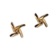 Brooches-Idealway 2016 New Fashion Gold Plated Alloy Cute Tiny Windmill Shape Collar Brooch Pin Jewelry on JD