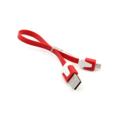 Mobile Phone Cables-Vanker 1/10 Flat Micro USB Sync Data Charger Cable for Samsung Galaxy S4 S3 S2 i9500 LG on JD