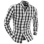 Casual Shirts-Big Promotion Mens Plaid Flannel Shirt Plus Size Red Plaid Shirt Men 2016 High Quality Casual Check Shirt Male on JD