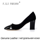 Pumps-2015 Spring/Summer High Heels Women Shoes Wedding Shoes for Women Pionted Toe Black Patent Leather Shoes on JD