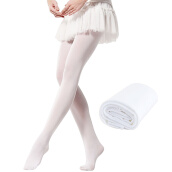 Dance Shoes-Jiesheng upgraded version of the girls ballet socks dance socks children's dance pantyhose practice stockings velvet stockings white XL code on JD