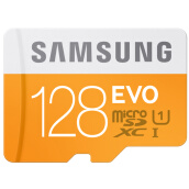 Storage Devices-SAMSUNG 128GB UHS-1 Class10 TF (Micro SD) memory card (read speed 48Mb / s) upgrade on JD