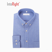 Casual Shirts-INTERIGHT Men's Chambray Long Sleeve Shirt on JD