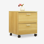 Bedroom Furniture-Middlese bedside cabinet Ivan with door removable drawer cabinet small apartment simple storage locker white on JD